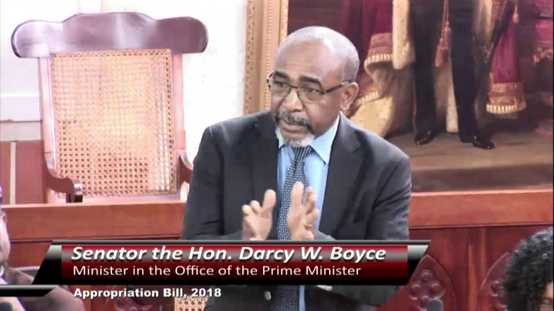 Senator the Hon. Darcy W. Boyce