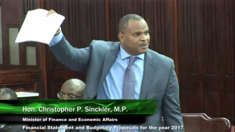 Hon. Christopher P. Sinckler - Reply