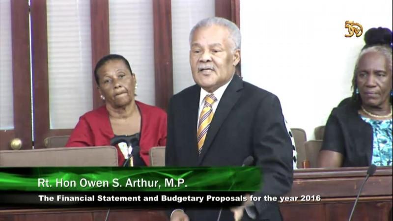 Rt. Hon. Owen S. Arthur