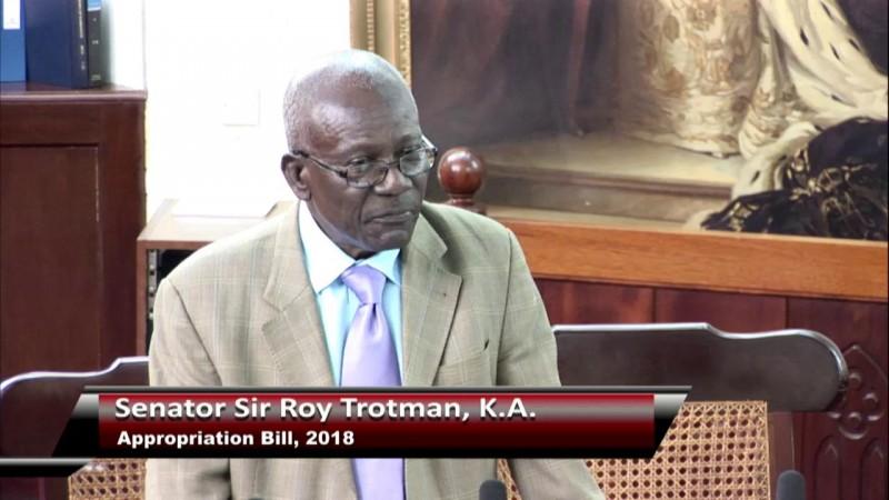 Senator Sir Roy Trotman, K.A