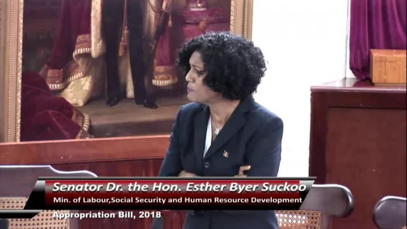 Senator the Hon. Dr. Byer -Suckoo