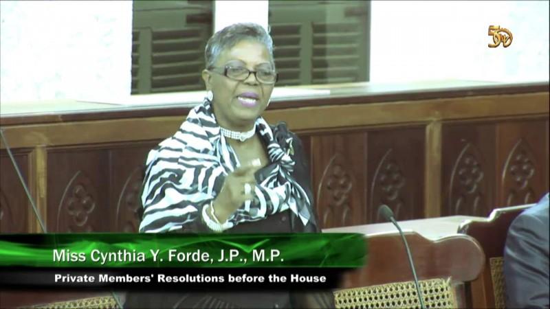 Miss Cynthia Y. Forde