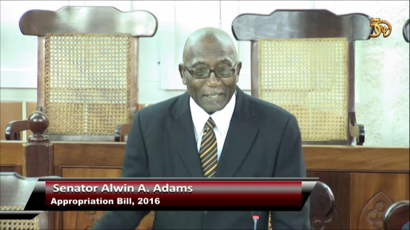 Senator Alwin A. Adams