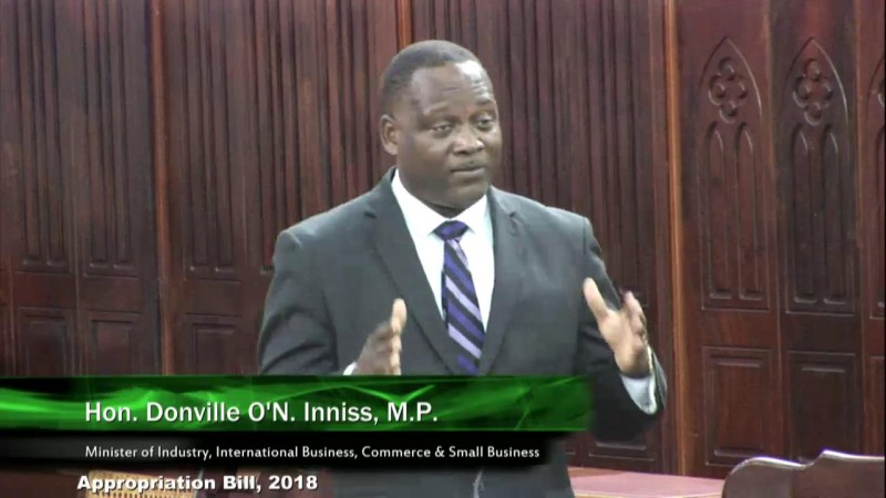 Hon. Donville O'N. Inniss