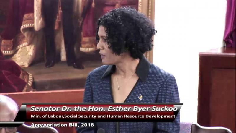 Senator the Hon. Dr. Byer-Suckoo