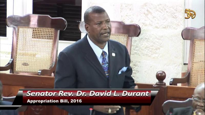 Senator Rev. Dr. David L. Durant