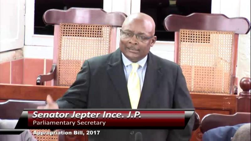 Senator Jepter Ince. J.P.