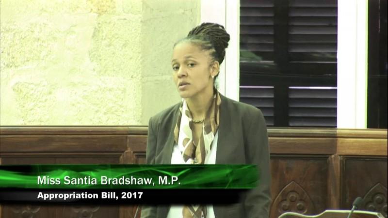 Miss Santia J. O. Bradshaw