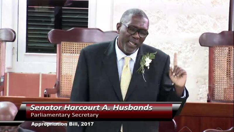 Senator Harcourt A. Husbands