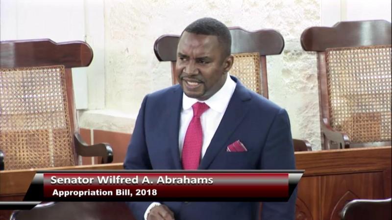 Senator Wilfred A. Abrahams