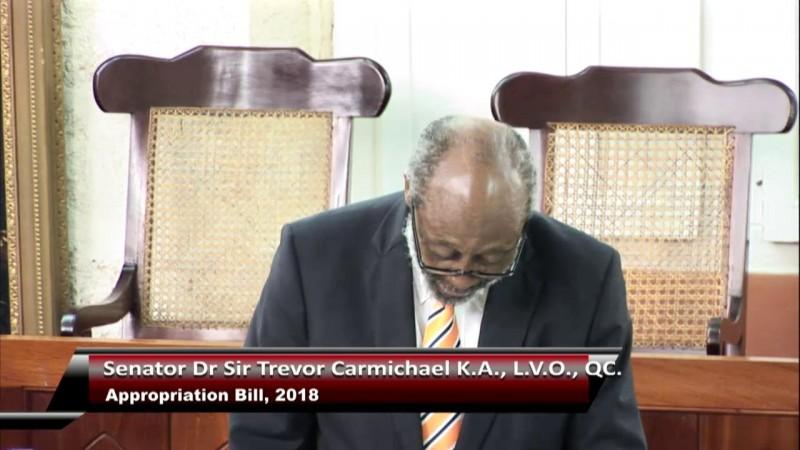 Senator Dr Sir Trevor Carmichael, K.A