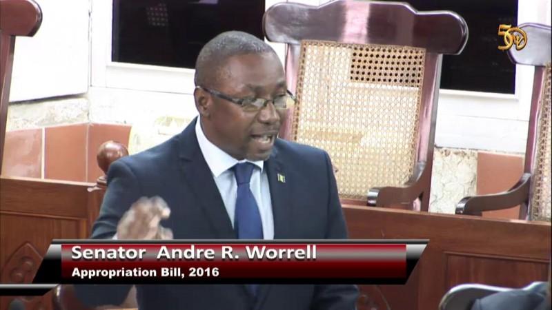 Senator Andre R. Worrell