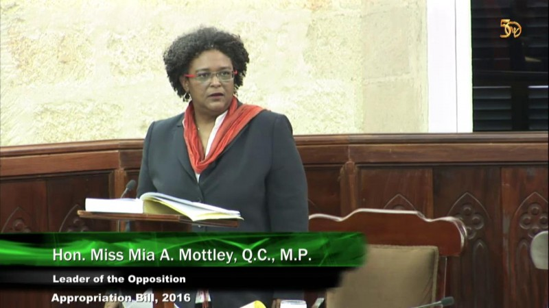 Hon. Miss Mia A. Mottley: Part 3