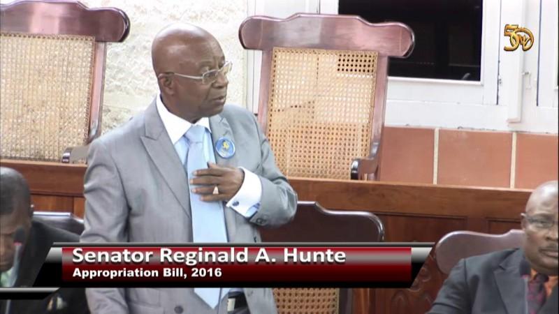 Senator Reginald A Hunte