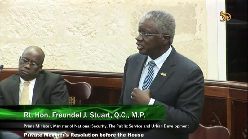 Hon. Freundel J. Stuart