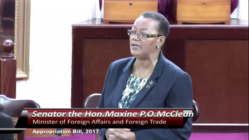 Senator the Hon. Miss Maxine McClean