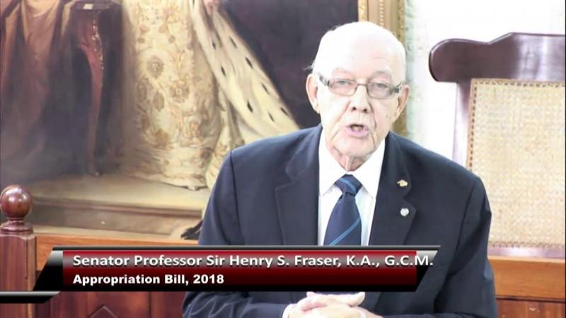 Senator Sir Henry S. Fraser