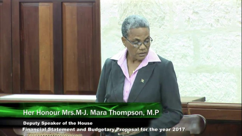 Her Honour Mrs. M-J. Mara Thompson