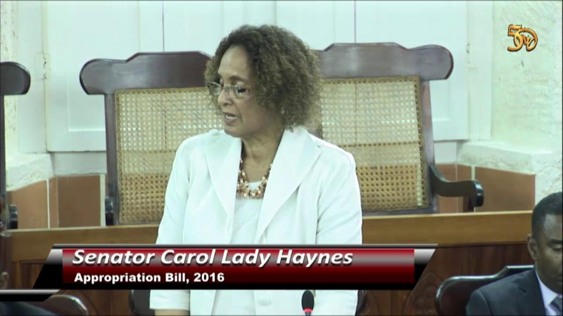 Senator Carol Lady Haynes